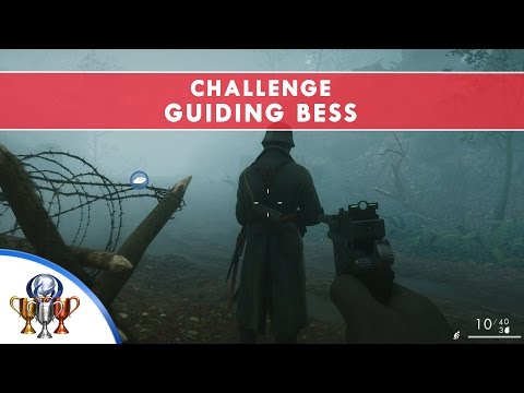 Battlefield 1 Codex Entry Challenge - Guiding Bess - Complete Stealth in Fog of War Forest