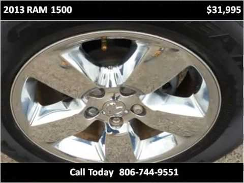 2013 ram 1500 used cars lubbock tx youtube for Hayes motor company trucks