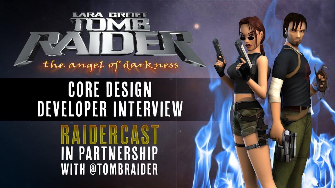 Raidercast Collab #1: Core Design AOD Interview