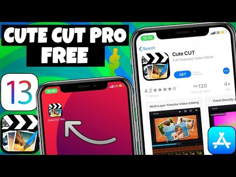 How To GET CUTE CUT PRO FREE IOS 13/12 No Jailbreak/PC IPhone IPad & IPod Touch [2019]