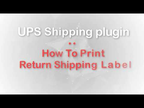 How To Print Return Shipping Label using UPS Shipping plugin on your  WooCommerce store ?