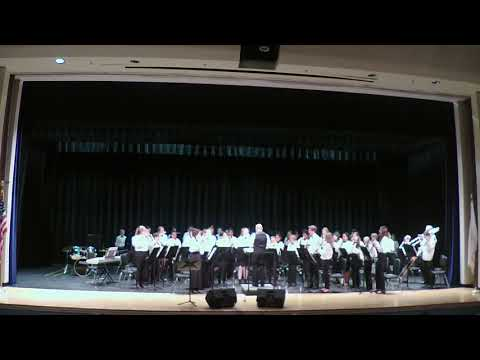 Honor Roll March performed by the Westerly Middle School Concert Band