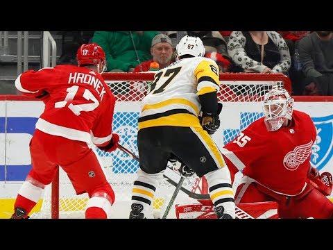 NHL Highlights   Penguins Vs. Red Wings - Jan. 17, 2020