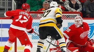 NHL Highlights | Penguins vs. Red Wings - Jan. 17, 2020