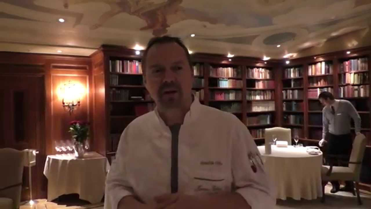 Presentation Of The Michelin Star Restaurant Lorenz Adlon Esszimmer