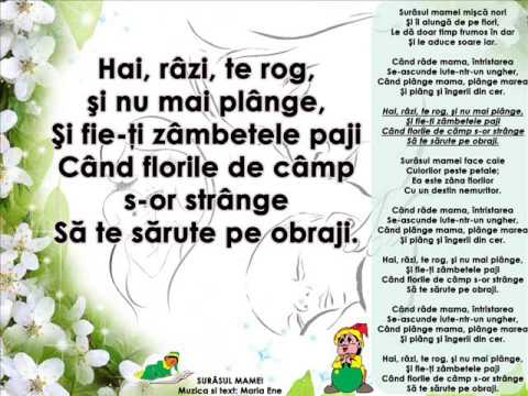 SURÂSUL MAMEI – Cantece pentru copii in limba romana