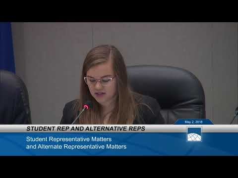 May 2 - 2018 PWCS School Board Meeting