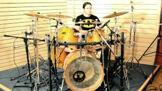 Charly Carretón - Symphony X - Bastards of the machine (Drum cover)