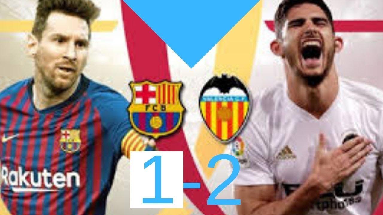 Download Barcelona vs Valencia 1-2 Resumen y Goles- Copa del Rey 2019 ⚽⚽