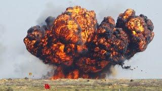 Новое оружие России в Сирии, детонирует все что содержит взрывчатку! Сирия. Война. Новости.