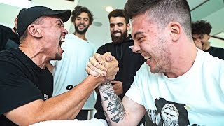 FaZe Clan Arm Wrestling Challenge