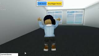 First time playing robloxian high school and cool dorms