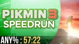 Pikmin 3 Any% Speedrun in 57:22