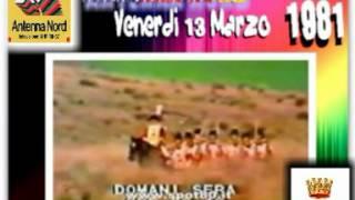 Palinsesto Antenna Nord Venerdi 13 Marzo 1981 (Futura Italia 1)