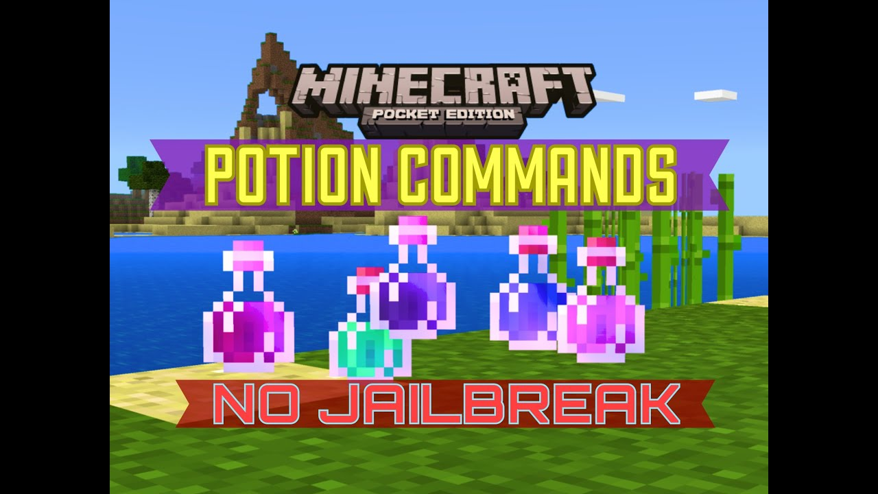 minecraft pe commands 0.12.1