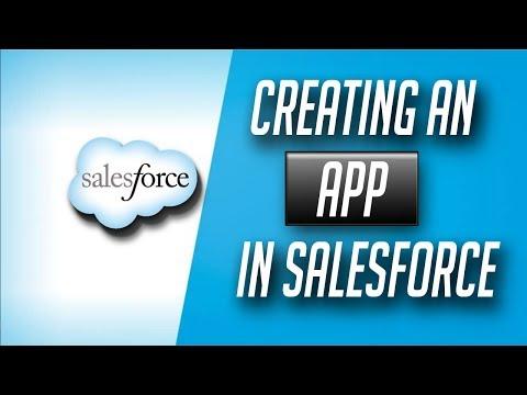 how to create custom app in salesforce - salesforce tutorials in hindi #3