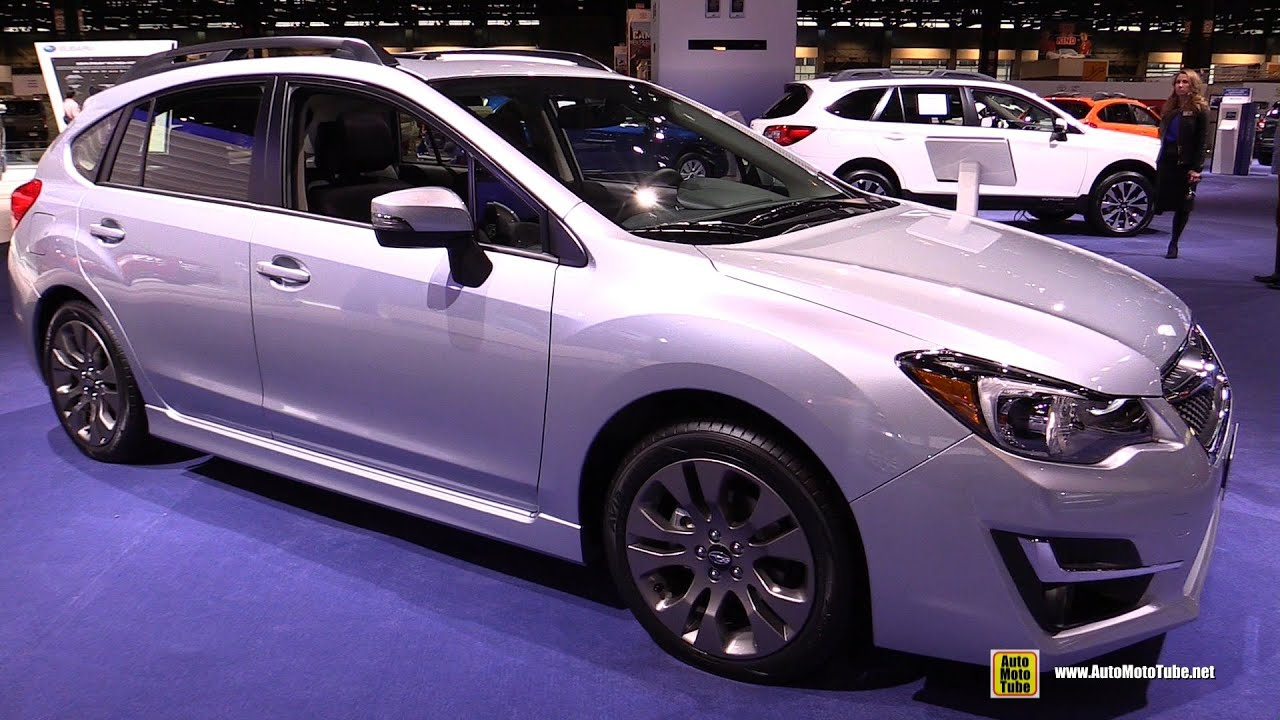 2015 subaru impreza sport premium exterior and interior walkaround 2015 chicago auto. Black Bedroom Furniture Sets. Home Design Ideas