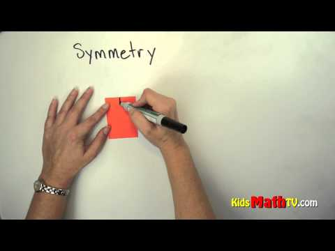 Notion Of Symmetry And Asymmetry Video For Kids