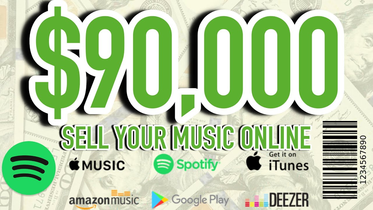 HOW I MADE $90,000 SELLING MUSIC ONLINE | Best Music Distribution Service