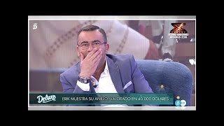 El divertido lapsus Jorge Javier Vázquez en 'Sábado Deluxe'