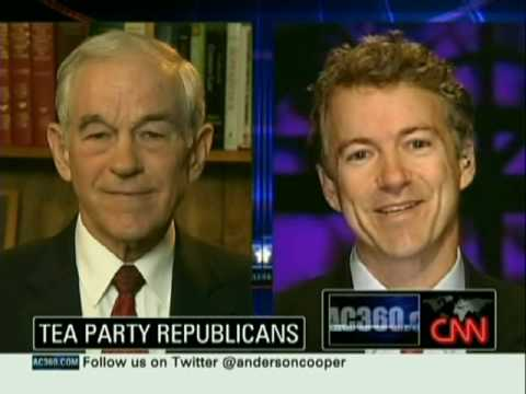 Rand Paul and Ron Paul on Anderson Cooper 360