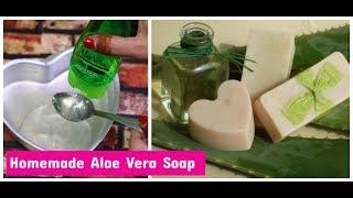 DIY AloeVera &amp Glycerine Soap For Soft SkinWinter Skin Care Sushmita&#39s Diaries