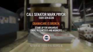 Ad: Obamacare Hurts Arkansas Small Business - NFIB Voice of Free Enterprise