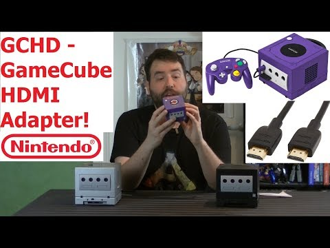 GCHD HDMI Adapter for Nintendo GameCube - Improve The Pictur