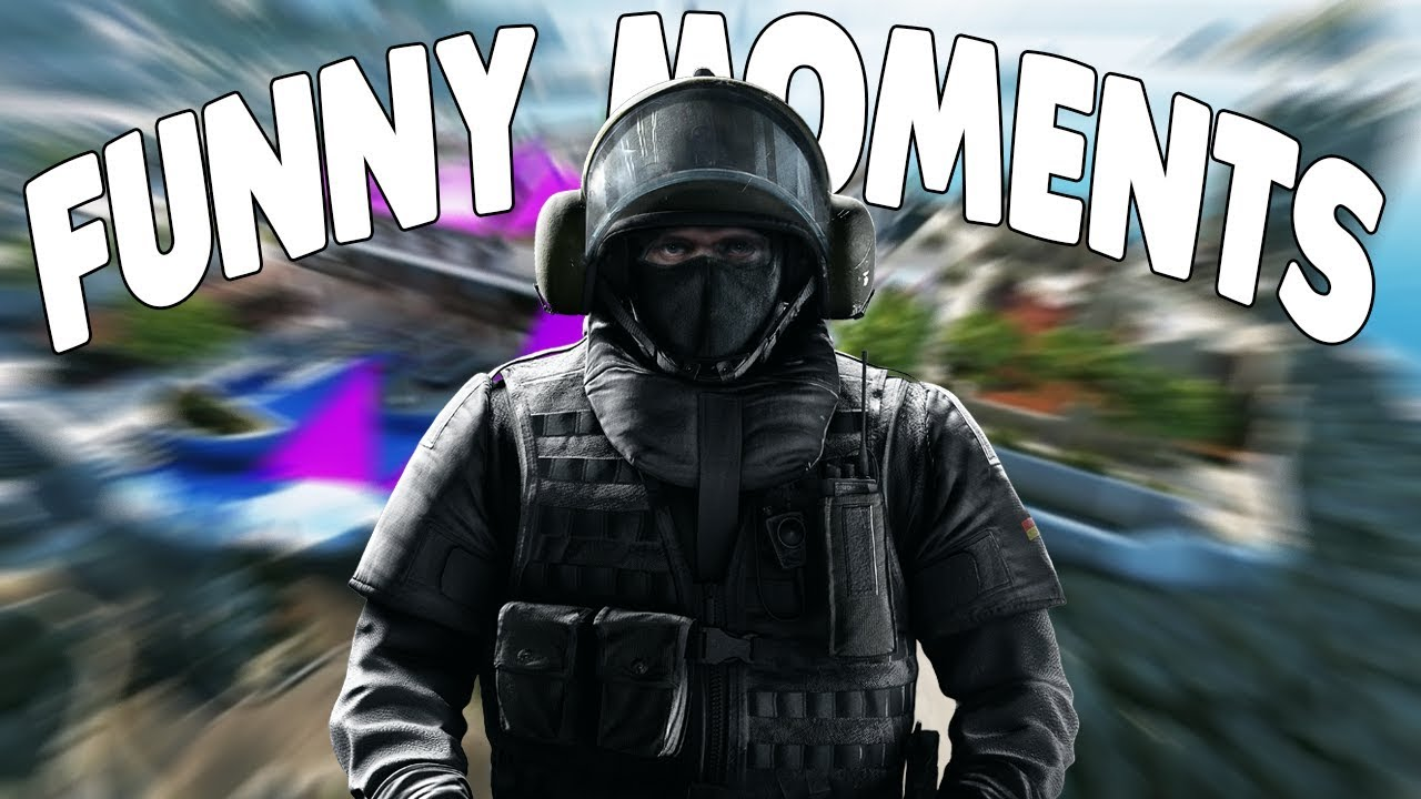 Rainbow Six Siege Funny Moments Strat Fail Dancing Comeback R Funny Moments