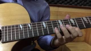 Đoạn lead hay nhất bài Trở về ( Bức Tường ) Kỹ thuật bend dây đàn
