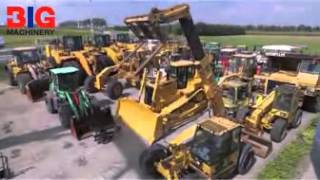 New   used heavy equipment from brands like Caterpillar (CAT)   Volvo   BIG Machinery.mp4