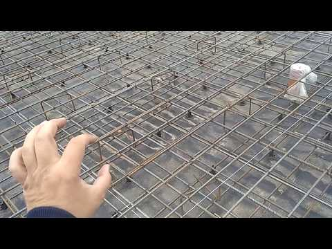 Как правильно связать каркас фундаментной плиты поставит лягушки (Гибкаарматуры.рф)