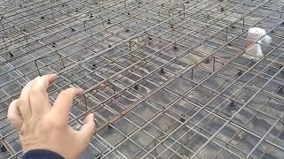 видео Армирование монолитной плиты: расчет и вязка арматуры