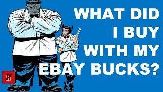 What Did I Buy With My eBay Bucks? | Comic Unboxing | OA Unboxing