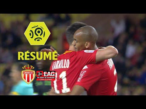 AS Monaco - EA Guingamp (6-0)  - Résumé - (ASM - EAG) / 2017-18