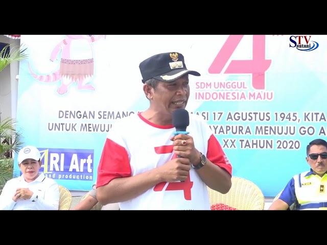 Pawai Kendaraan Hias Kabupaten Jayapura  | Sentani TV