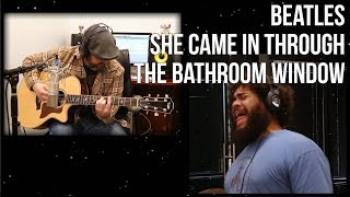 The Beatles She Came in Through The Bathroom Window Cover
