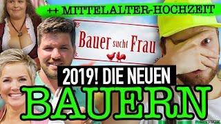 Bauer sucht Frau 2019: heiße Kandidaten 😱 MIESE Mittelalterhochzeit 🙈