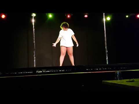 The Pole Dancer - spoken word pole