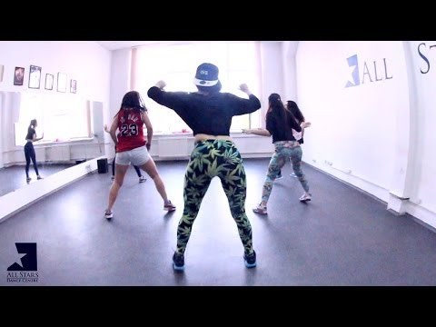Major Lazer - Walshy Fire BBC Radio.Booty Dance by Алена Македонская. All Stars WorkShop 04.14
