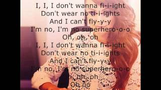 Cher Lloyd- Superhero Lyrics