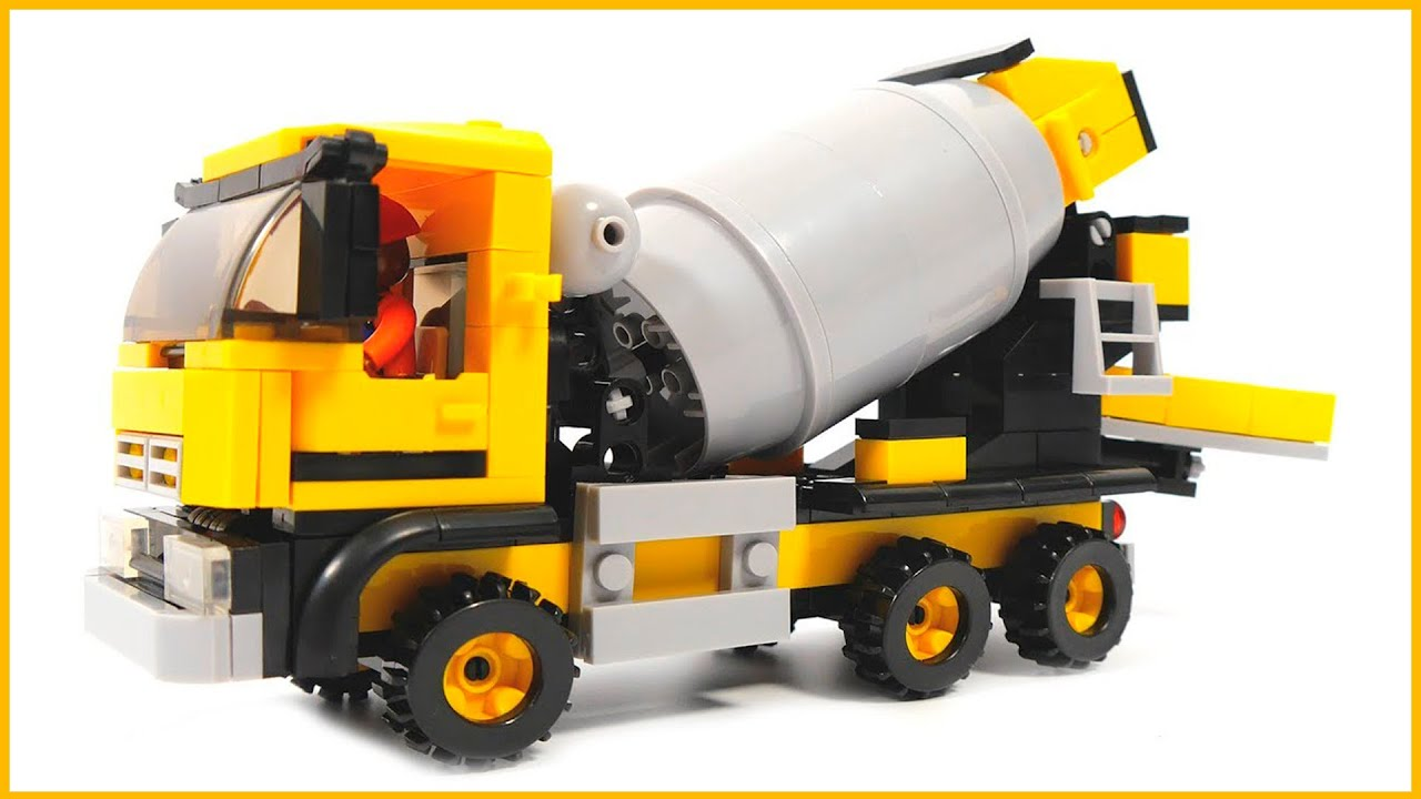 how to make a cement mixer