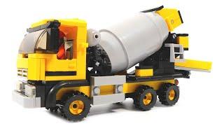 конструктор Sluban Cement Mixer M38-B0550 обзор