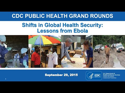 Shifts in Global Health Security: Lessons from Ebola