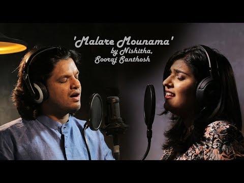 Malare Mounama (cover) - Nishitha, Sooraj Santhosh