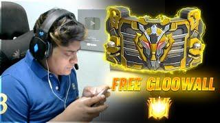 Free Fire Live |  Free New Gloo Wall Skin | Grandmaster Hacker Score -20000