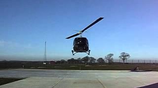 Bell 212 Christoph 12 Landung
