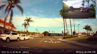Экзамен по вождению на получение водительских прав в Калифорнии(В этом видео, снятым на видеорегистратор, я хотел показать, как водитель с 30-летним стажем из Европы, сдавал..., 2015-10-18T07:44:46.000Z)