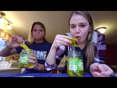 THE PICKLE CHALLENGE!!
