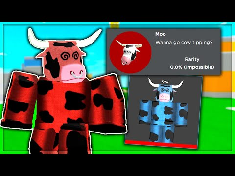How To Get The SECRET MOO Badge & Free Rare Cow SKIN (Roblox Arsenal)